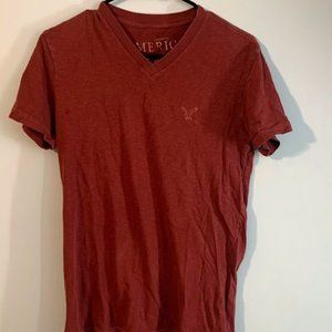 Men's American Eagle T-Shirt Size M Color Red